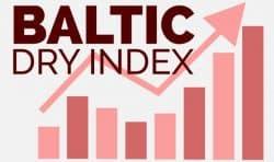波罗的海干散货指数 Baltic Dry Index